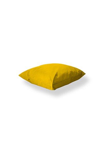 Yer Minderi Oturma Balkon Teras Bahçe Minderi - 100x100 Cm | Sarı