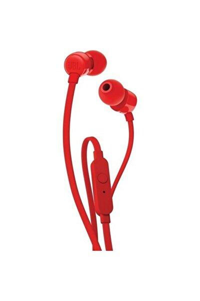 T110 Mikrofonlu Kulak Içi Kulaklık Kırmızı