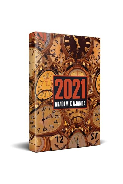 2021 Akademik Ajanda - Saat Desenli