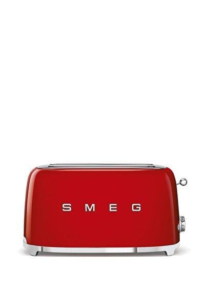 Tsf02rdeu Retro Kırmızı 2x4 Slot Ekmek Kızartma Makinesi