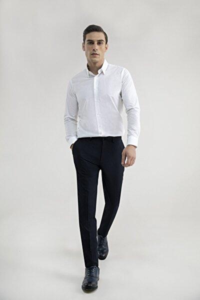 Tween Slim Fit Lacivert Kumaş Pantolon