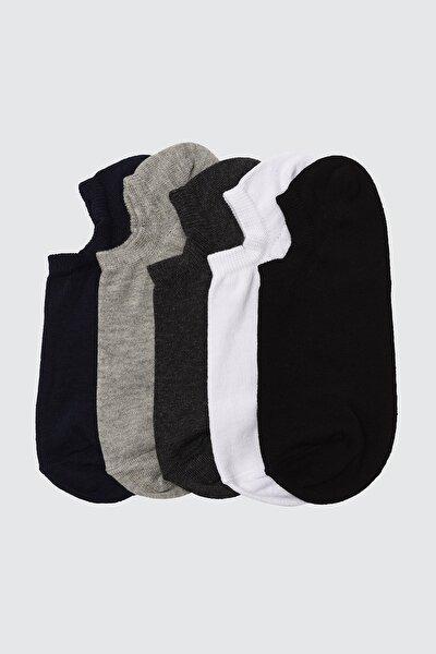 Çok Renkli 5'li Paket Suba Spor Çorap TMNSS20CO0022
