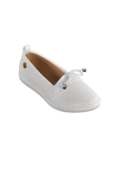 Beyaz Kadın Günlük Ayakkabı