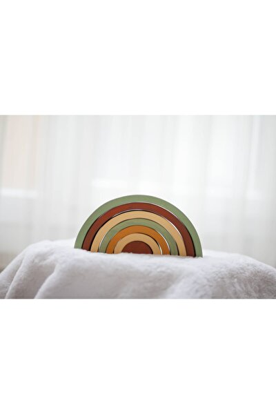 Waldorf Wooden Soil Rainbow Montessori