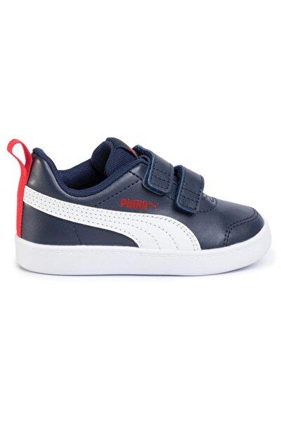 COURTFLEX V2 V INF Lacivert Erkek Çocuk Sneaker Ayakkabı 101085098