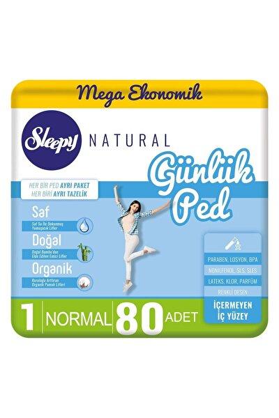 Natural Günlük Ped Normal 80 Adet