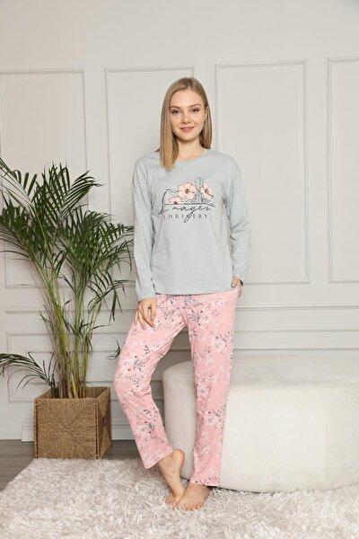 Kadın Ince Penye Pijama Takımı 30102
