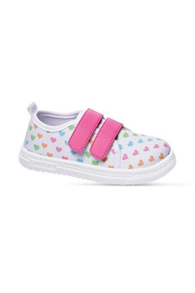 401 R 015 20-25 Keten Ayakkabı Beyaz