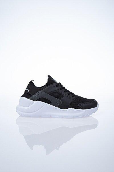 PC-30031 Siyah-Beyaz Kadın Spor Ayakkabı