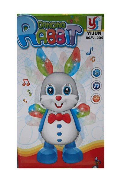 Dans Eden Tavşan Işıklı Müzikli Oyuncak