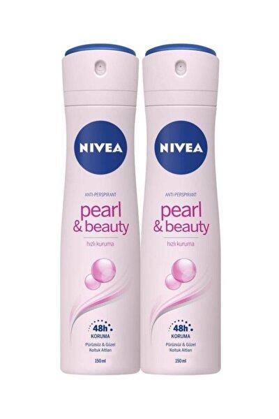 Pearl Beuty Bayan Deosprey 150 ml 2'li Avantalı Paket