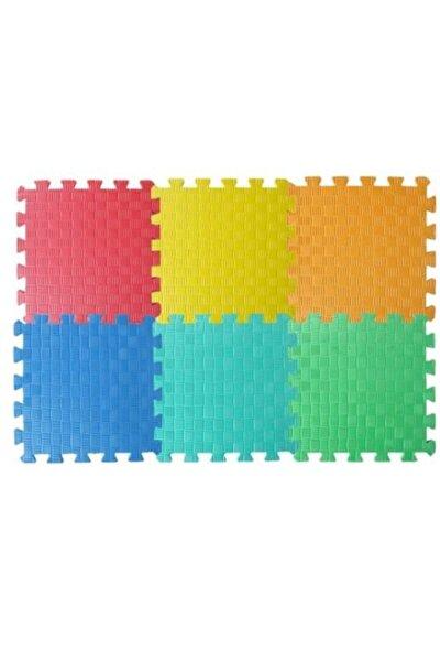 Eva Yer Karosu 6 Renk, Puzzle Oyun Karosu, Çocuk Oyun Yer Matı + Mini Çerçeve Hediyeli