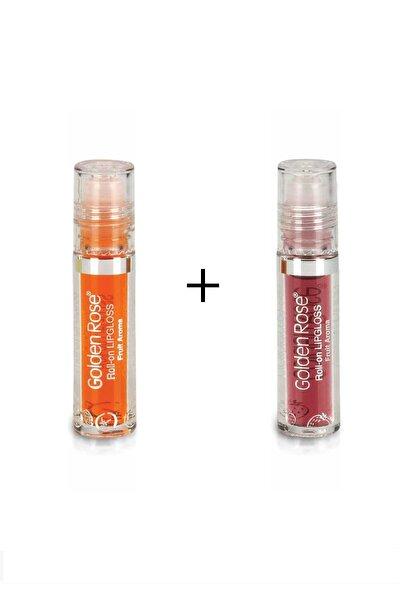 Meyveli Dudak Parlatıcısı Roll On Lipgloss Çilek Ve Portakal Mtk