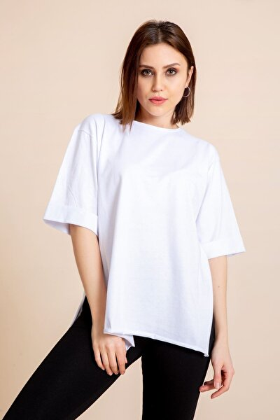 Kadın Kol T-shirt 1073-3678