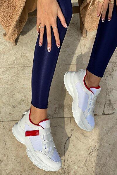 Kadın Beyaz Spor Sneaker Ayakkabı
