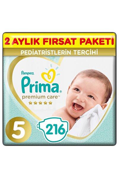 Premium Care Bebek Bezi 5 Beden 216 Adet Junior 2 Aylık Fırsat Paketi
