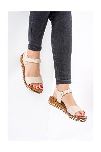 Bej Kadın Sandalet F288061309
