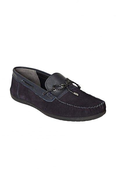 Erkek Lacivert Günlük Rahat Loafer Ayakkabı