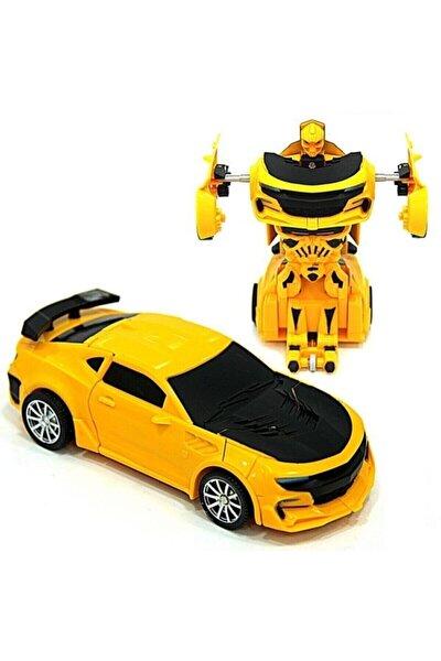 Bumblebee Oyuncak Robota Dönüşebilen Çek Bırak Araba