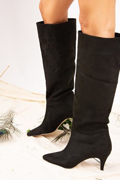 Siyah Kadın Çizme J749205302