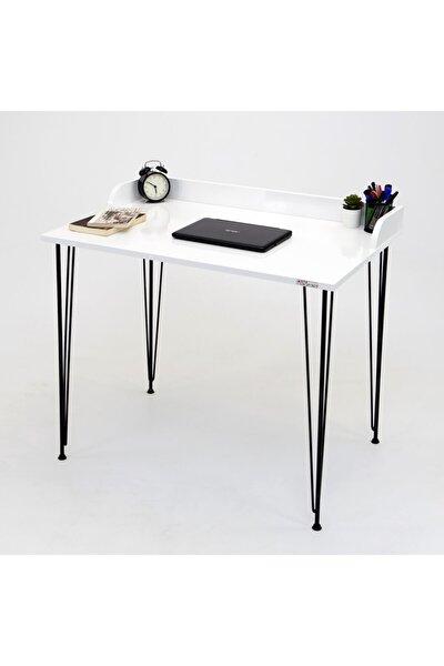 Linda Beyaz XL Çalışma Masası
