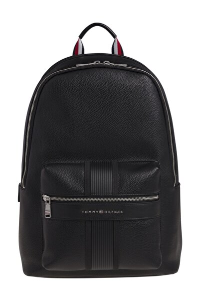 Erkek Siyah Omuz Çantası Th Downtown Backpack AM0AM06480