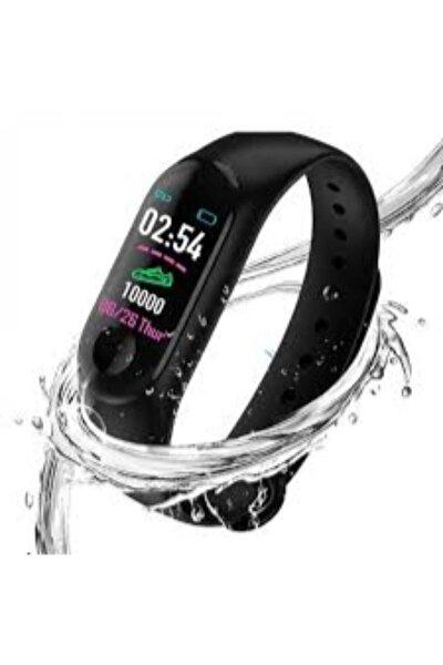 Unisex Siyah M4 Renkli Ekran Akıllı Bileklik