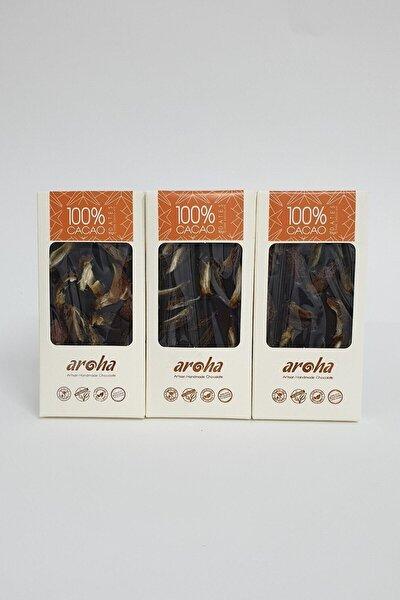 Hurmalı  Kakao Şekersiz Bitter Çikolata