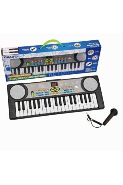 Oyuncak 37 Tuşlu Mikrofonlu Karaoke Org - Çocuk Piyano