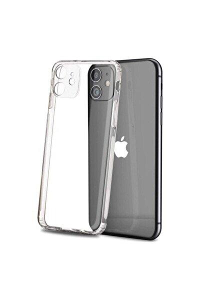 Şeffaf Iphone 11 Tıpalı Kamera Korumalı Premier Kılıf