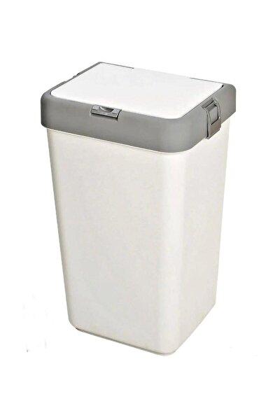 Kirli Çamaşır Sepeti Beyaz 40 Lt