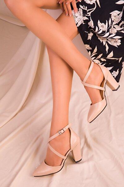 Ten Mat Kadın Klasik Topuklu Ayakkabı 14391