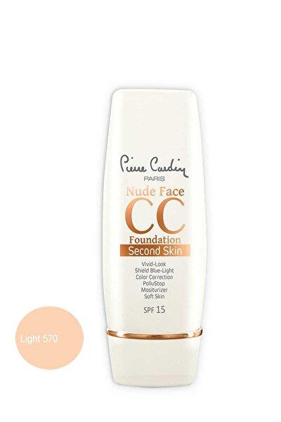 Cc Krem - Nude Face Cc Cream Spf 15 Light 8680570467025