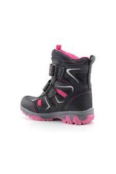 Kız Çocuk Siyah Fuşya Kar Botu 23295-051