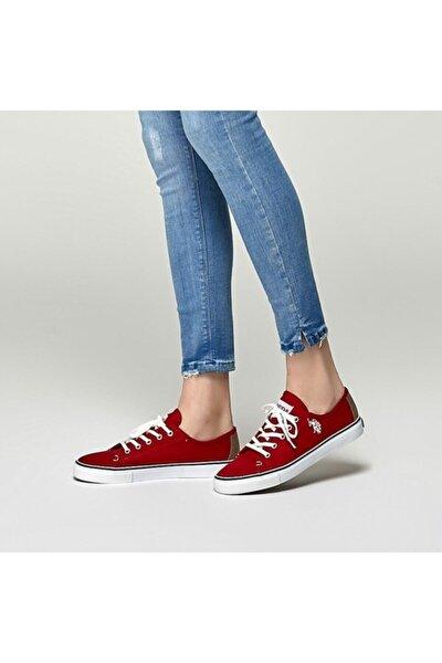 TOGA 1FX Kırmızı Kadın Havuz Taban Sneaker 100918943