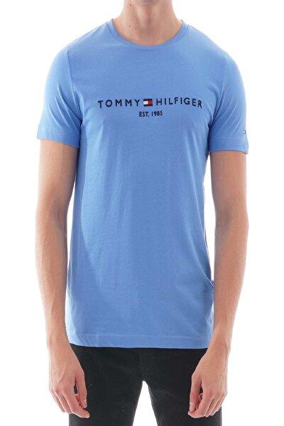 Erkek Mavi  Logo Tee T-shirt Mw0mw11797