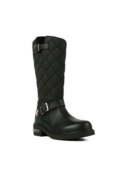 Kadın Siyah Çizme 102 15980-z