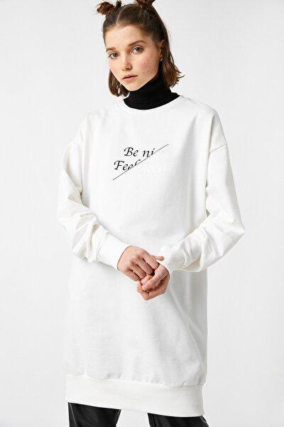 Kadın Ekru Sweatshirt 1KAL68280UK