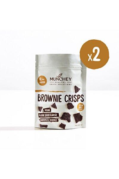 2'li Brownie Crisps 80g.