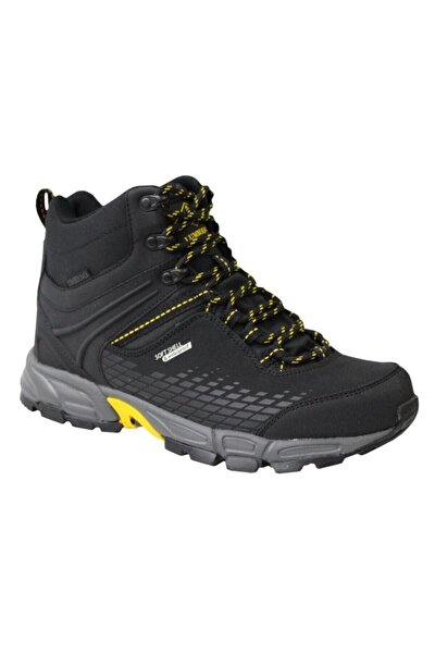 Flake Hi Siyah-sarı Waterproof Outdoor Ayakkabı Bot 7322l Flakeh