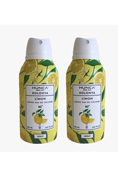 80 Derece Aerosol Sprey Limon Kolonyası 150ml X 2 Adet