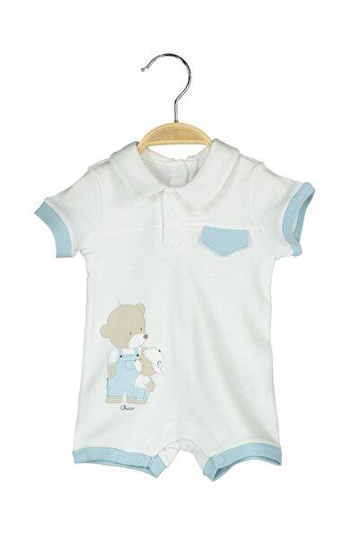 Mavı Çocuk Tulum Kısa Yarım Kol 09050675000000