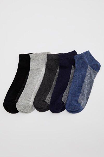 Erkek Karma 5'li Babet Çorap