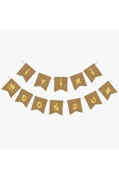 Kraft-Gold Iyiki Doğdun Banner