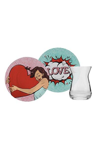 Love Art 6 Kişilik Çay Seti