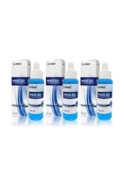 Biohira Mavi Su Saç Bakım Serumu 3 Adet  60 ml.