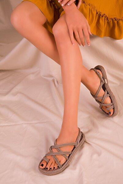 Vizon Kadın Sandalet 14737