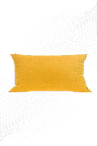 30x50 Cm Sarı Kırlent Kılıfı Dekoratif Düz Sade Panoroma-344