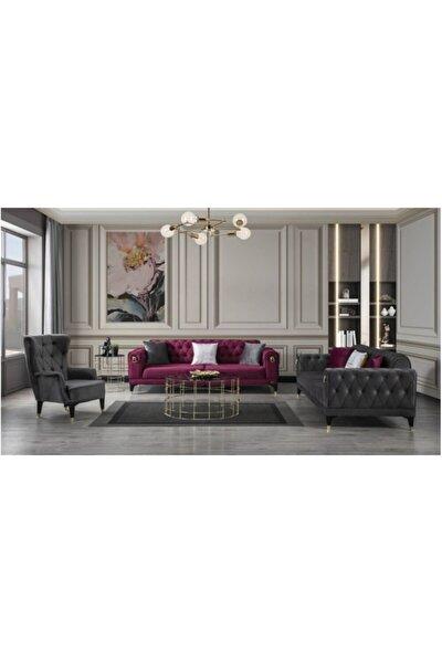 Chester Modern Solon Yataklı Elegance Koltuk Takımı 3+3+1