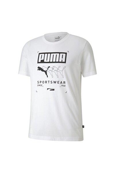 Box Tee Erkek T-shirt Whıte 581908-02